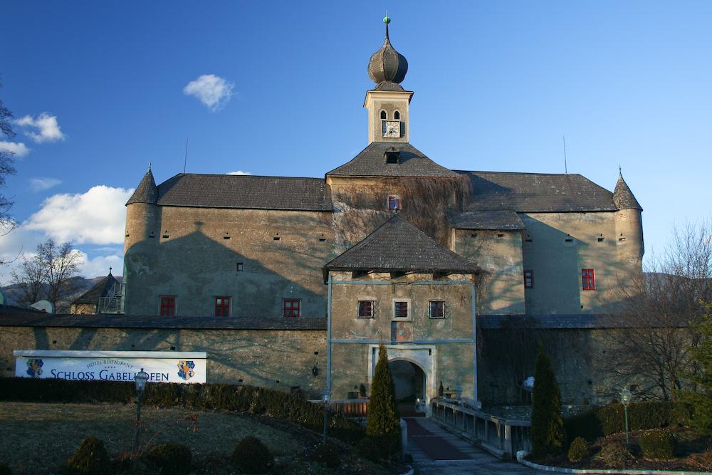 Didi Mateschitz' Schloss Gabelhofen, near A1-Ring, Austria