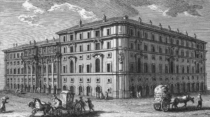 Bildresultat för palazzo propaganda fide