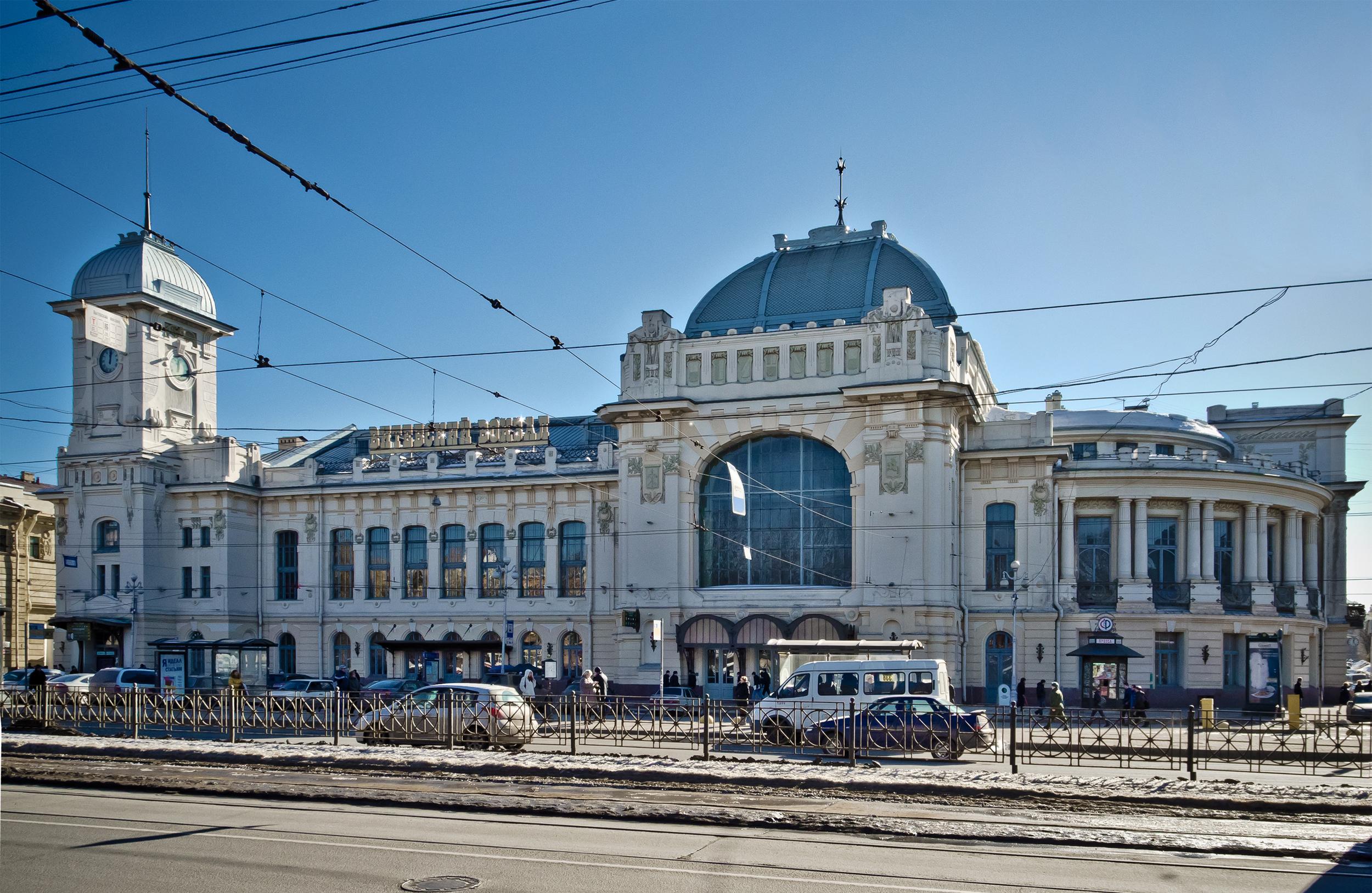 Rus moderninin abidəsi - Vitebsk vağzalı