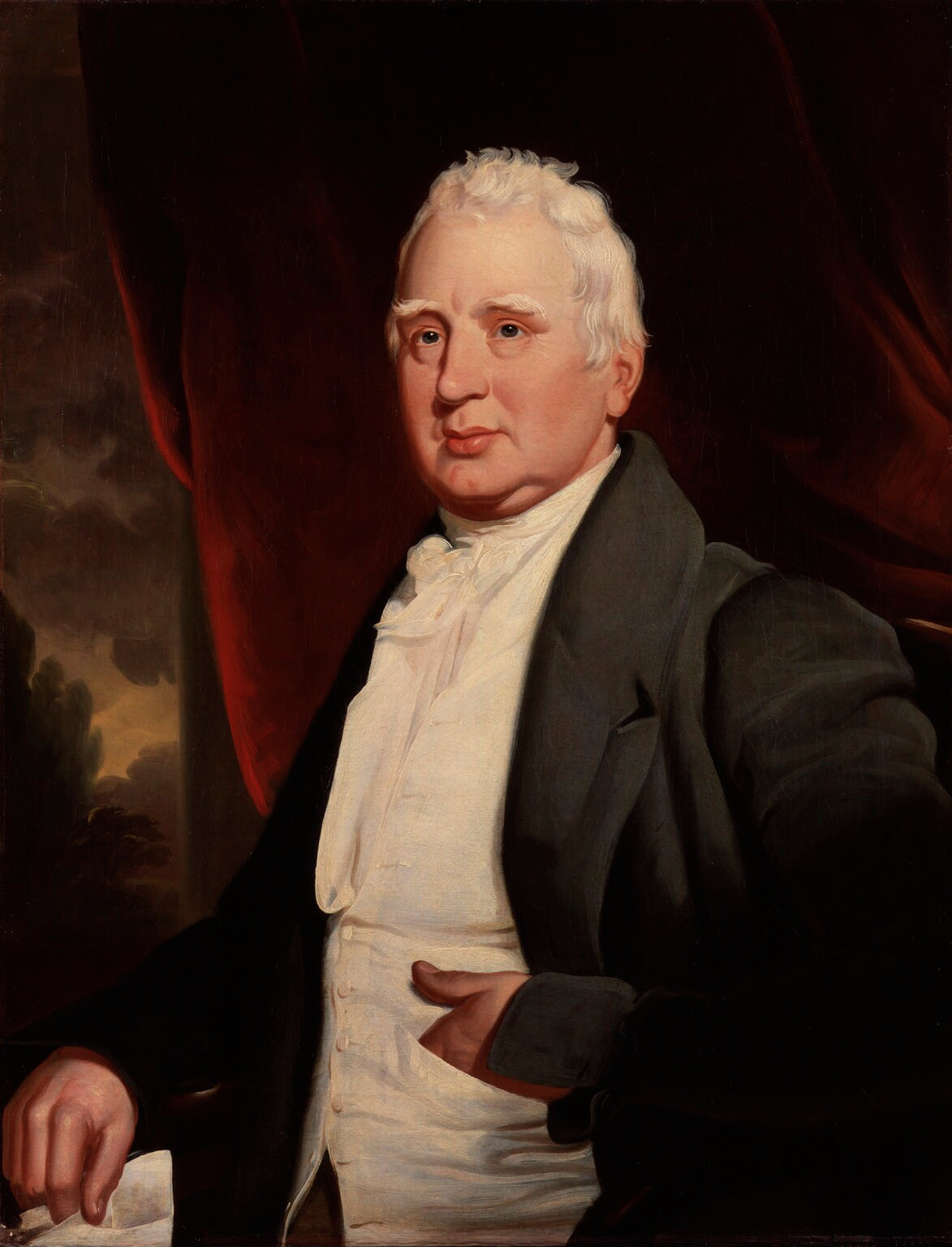 Portrait of William Cobbett for use on the Wil...