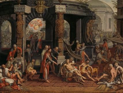 Bestand:De genezing van de lamme van Bethesda. Rijksmuseum SK-A ...