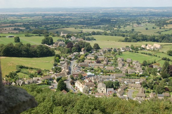 Photo of North Nibley by John Sparshatt