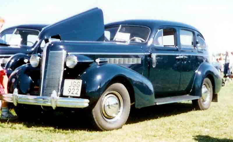 1939 Buick 4 Door Sedan