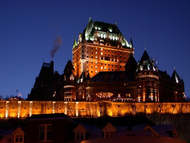 Old Quebec and Chateau Frontenac