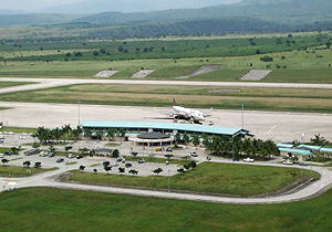 English: Aerial view of General Santos Interna...