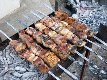 نتيجة بحث الصور عن Sterlet on the grill