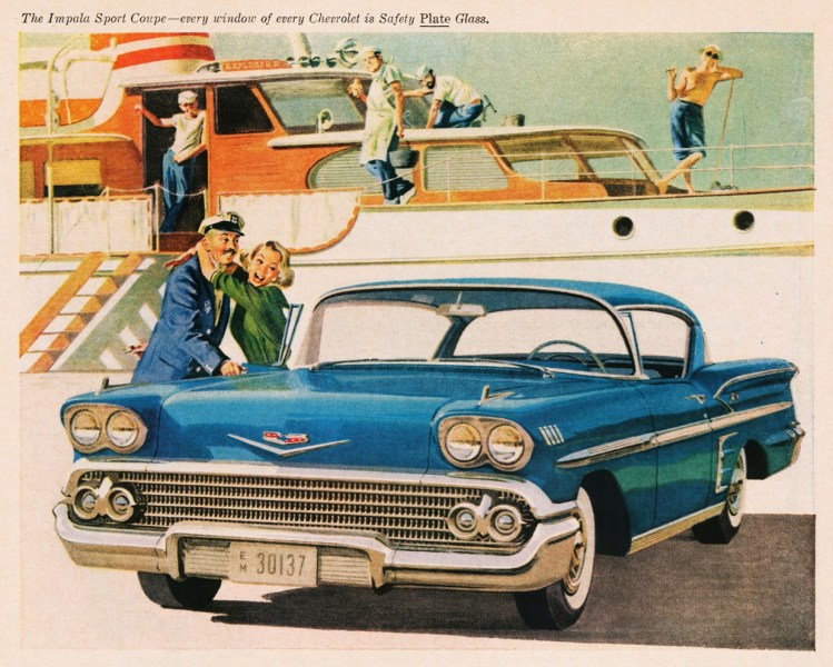 1958 chevrolet cars » File 1958 Chevrolet Impala Sport Coupe jpeg   Wikimedia Commons File 1958 Chevrolet Impala Sport Coupe jpeg