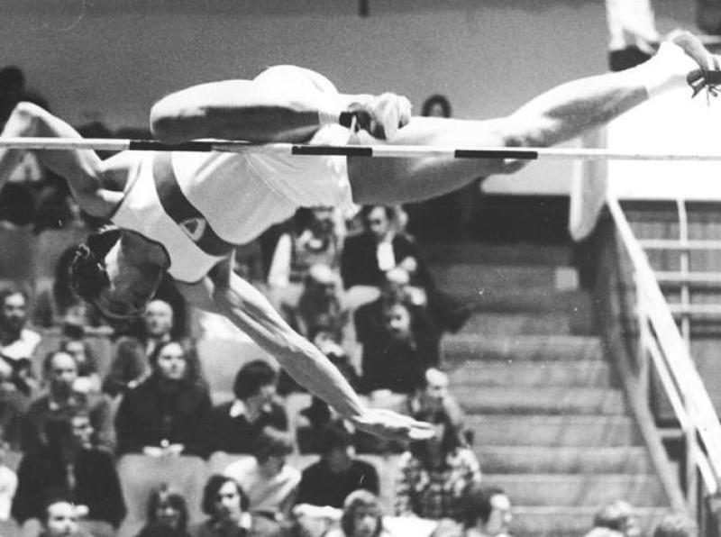 Rolf Beilschmidt, 5.3.1977.godine - visina 2.25