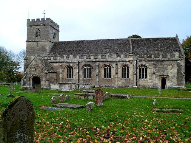 St George's parish church, King's Stanley, Gloucestershire