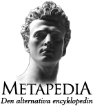 The logotype of encyclopedia Metapedia
