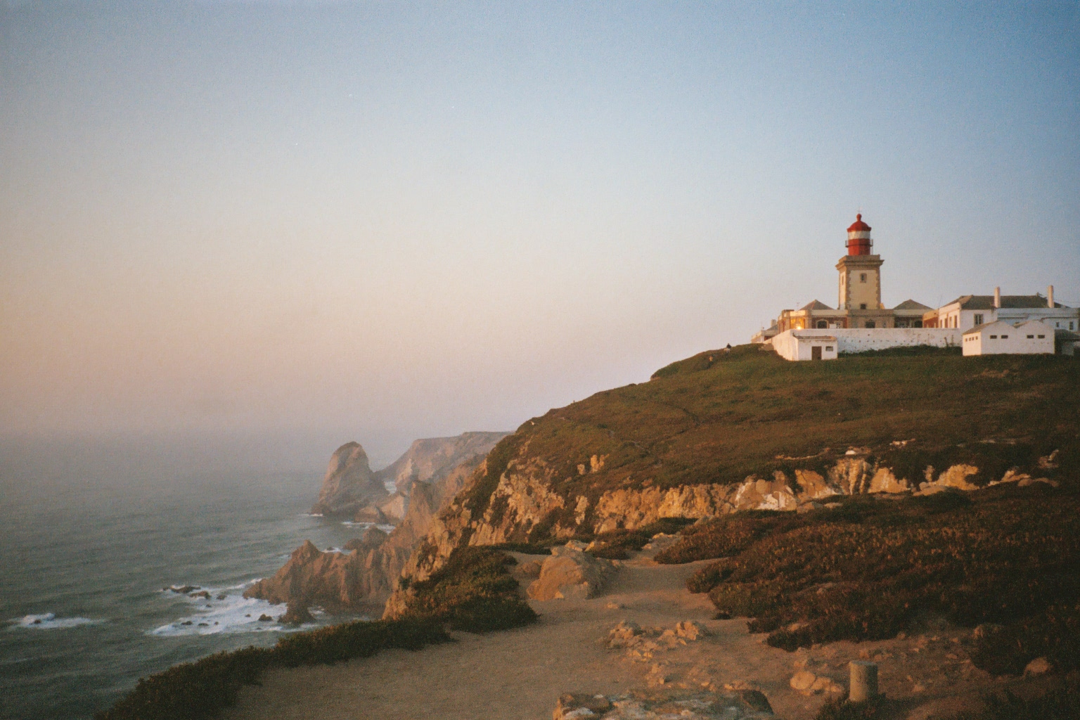 English: Cabo da Roca, the westernmost point o...