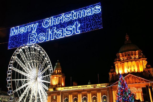 FileChristmas Lights Belfast 2008 Uk