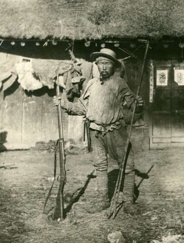 Dersu Uzala, a Nanai hunter and the guide of t...