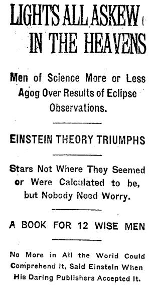 A quem interessa a relatividade? - Página 3 Einstein_theory_triumphs