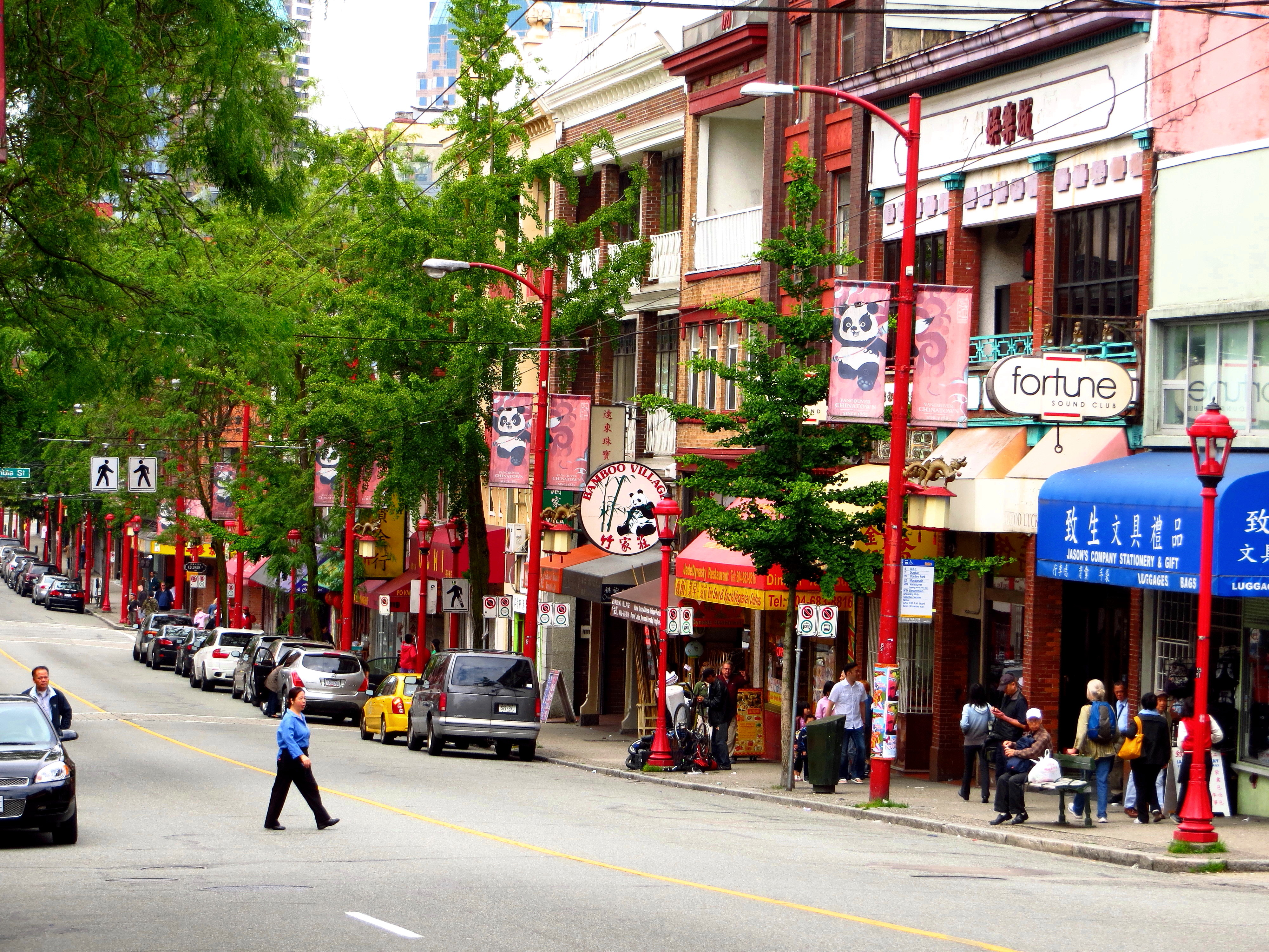 Chinatown, Vancouver.