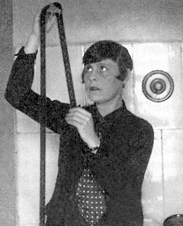 Lilya Brik shown editing film in 1928.