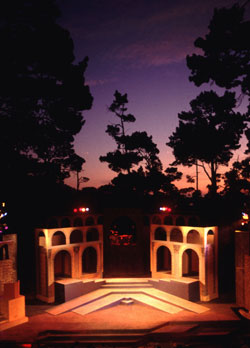 Historic Outdoor Forest Theater, Carmel, CA. S...