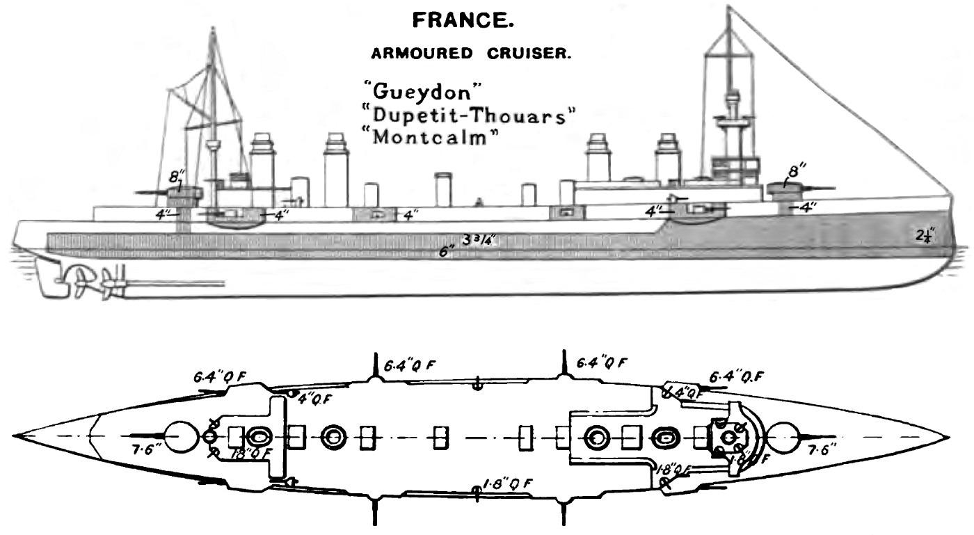 Gueydon Class Cruiser