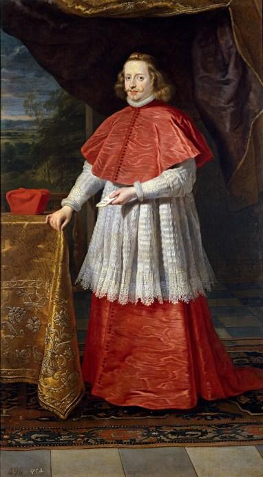 Glorie Del Cardinalato Ser Cardinale Ferdinando Dasburgo 1609