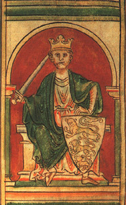 Richard the Lionheart, an illustration from a ...