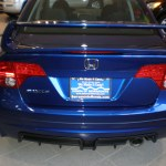 File 2008 Blue Honda Civic Mugen Si Sedan Rear Jpg Wikimedia Commons