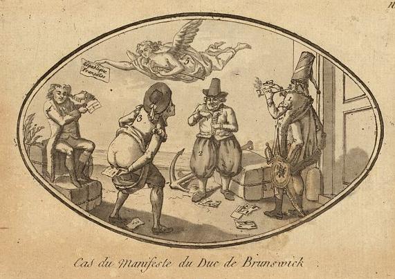 Manifeste de Brunswick caricature 1792.jpg