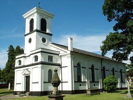 St Leonard's parish church, Woore, Shropshire