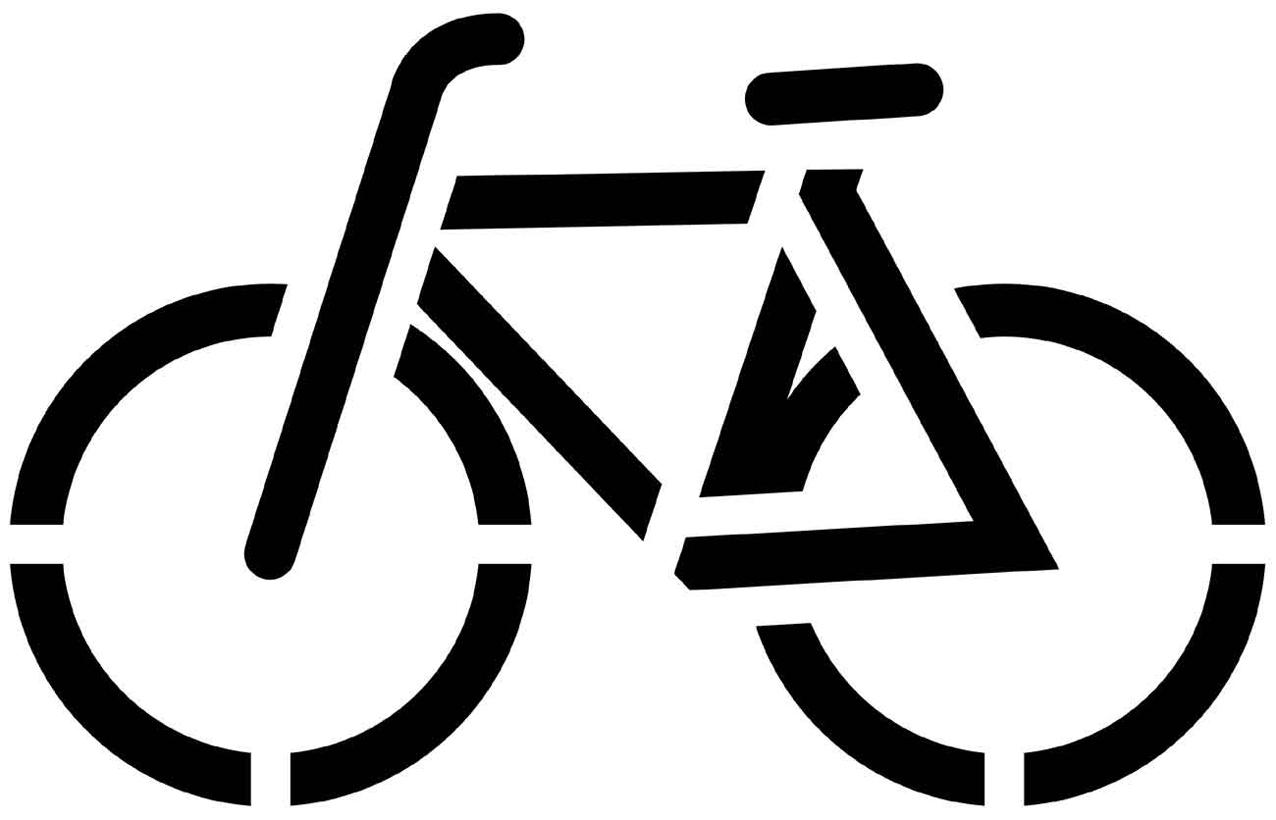 Spitfire Logo Stencil
