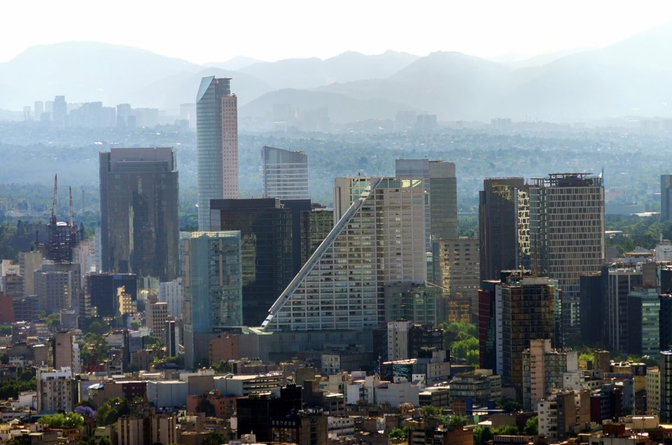 Mexico City Financial District