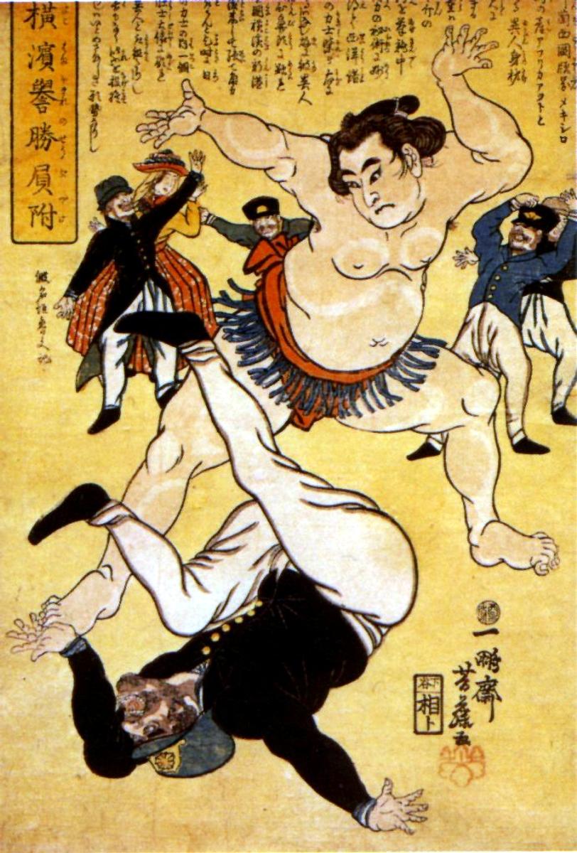 https://i2.wp.com/upload.wikimedia.org/wikipedia/commons/4/4b/Foreigner_and_Wrestler_at_Yokohama_1861.jpg