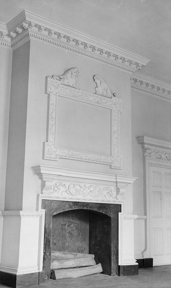 FileHammond Harwood House Salon Mantelpiece HABS MD2