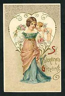 Valentine postcard, circa 1900–1910