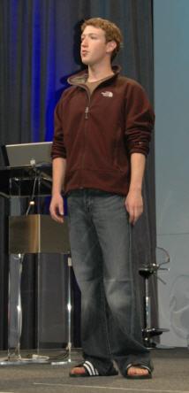Mark Zuckerberg, May 2007