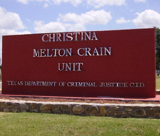 Christina Crain Unit A State Prison For Women In Gatesville Texas