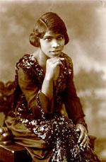 A contralto Marian Anderson em 1920.