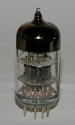 English: 6N3P vacuum tube