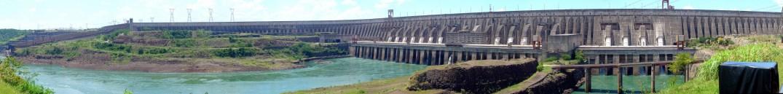Usina hidrelétrica da Itaipu Brasil Paraguai