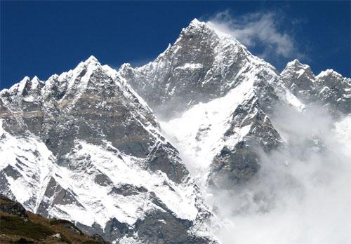 Lhotse Mountain. Creative Commons. Public Domain.