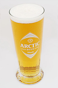 English: Arctic Beer from the Mack brewery in ...