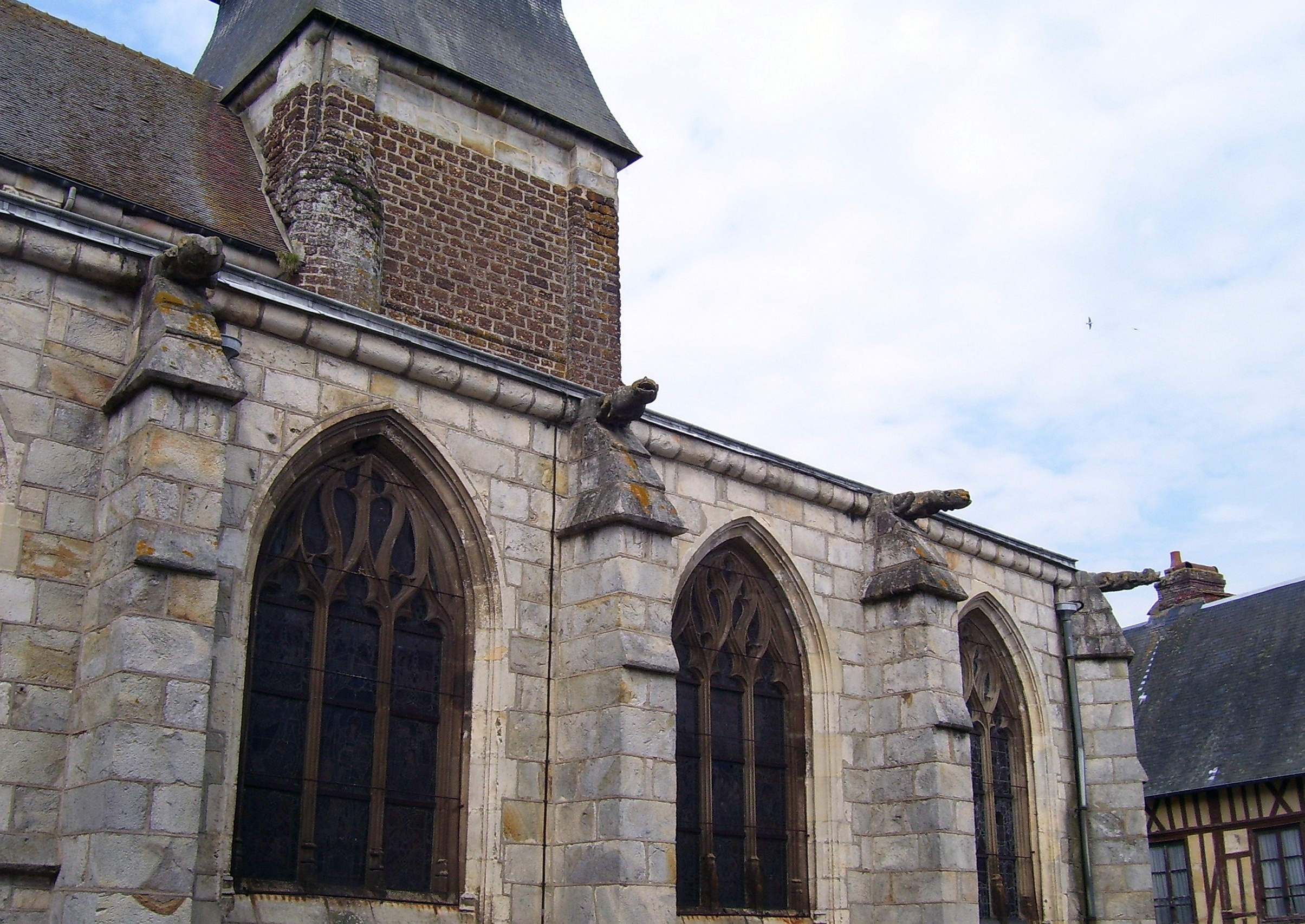 gargouilles église broglie