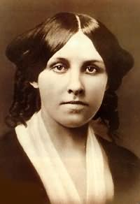 Headshot of Louisa May Alcott