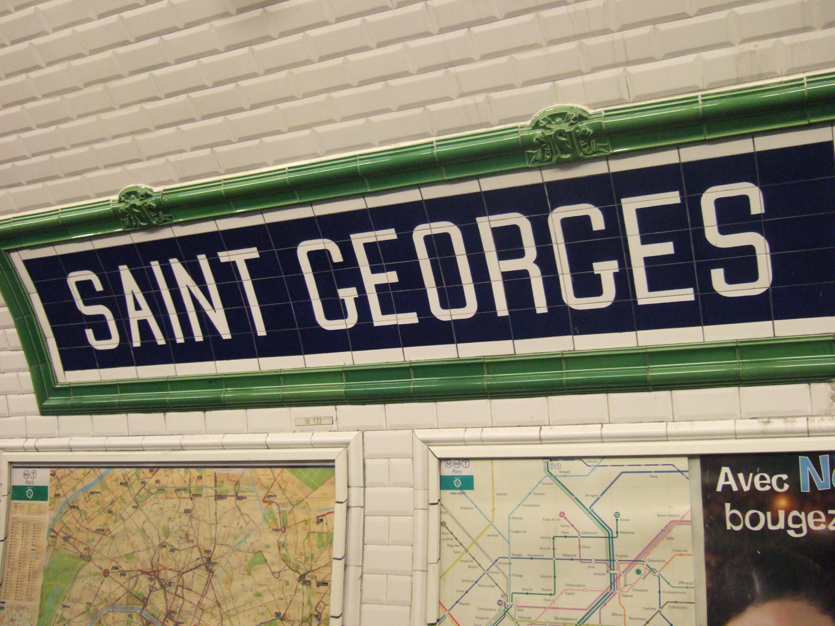 saint georges metro paris wikipedia