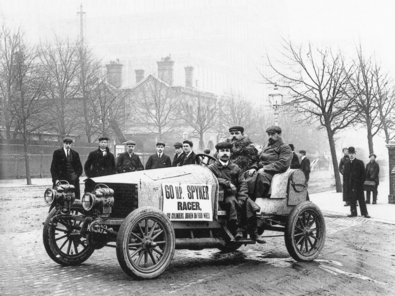 1963 rambler cars » Four wheel drive   Wikipedia The 1903 Spyker 60 HP was the world s first 4WD  that was directly powered  by an internal combustion engine  and the first 4WD race car