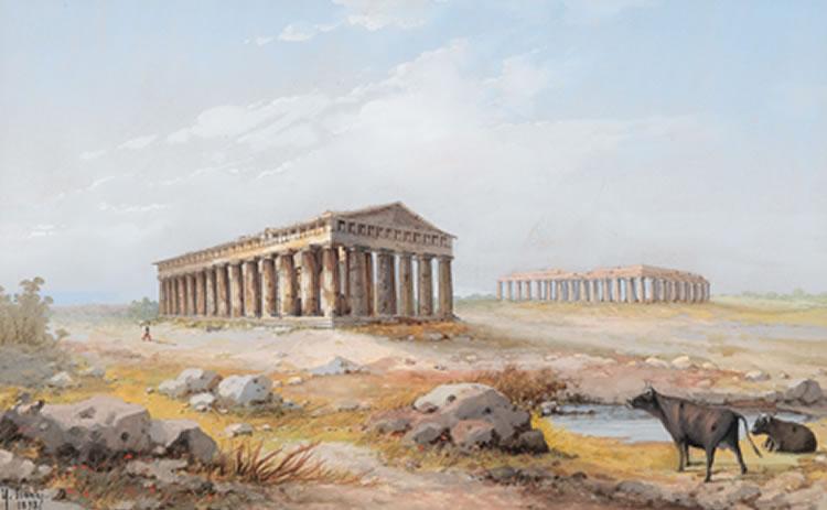 Y gianni Tempel Paestum 1898.jpg
