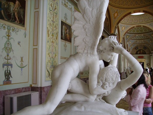 Antonio Canova-Cupid's Kiss