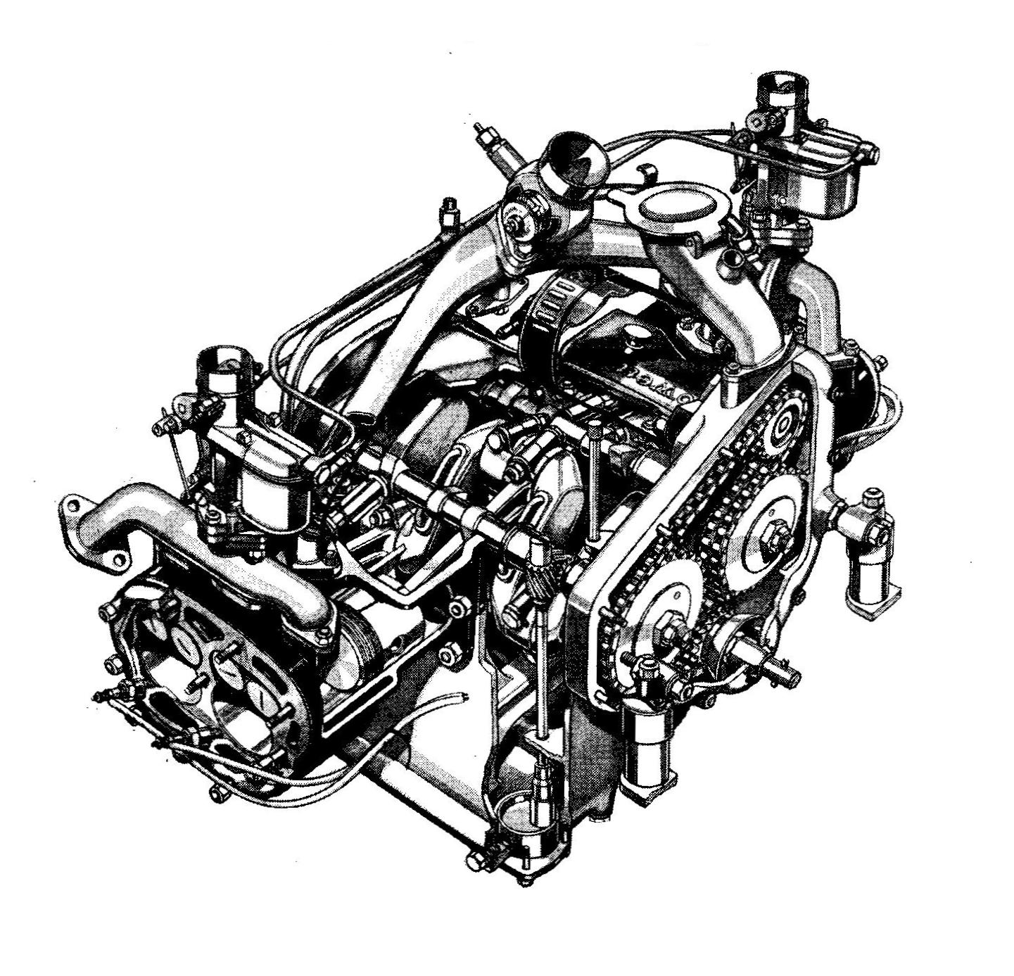 Flat Engines