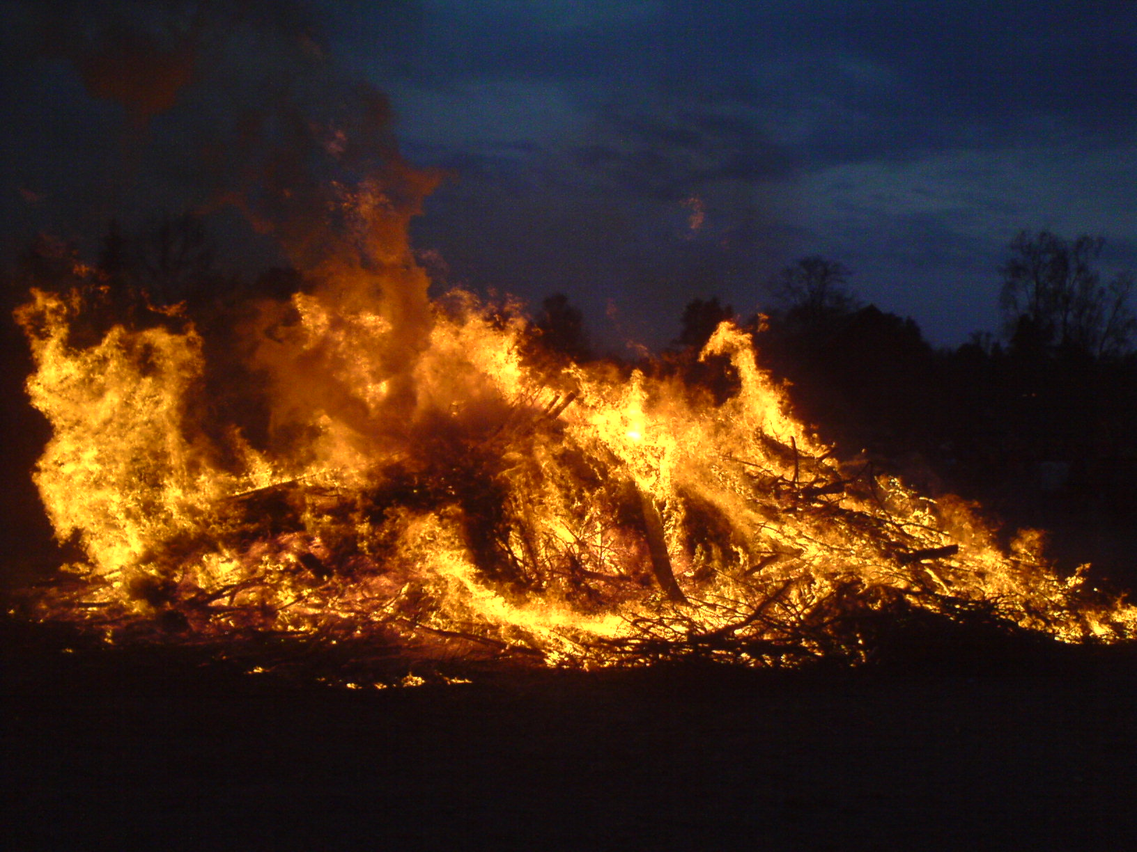 Swedish Walpurgis fire