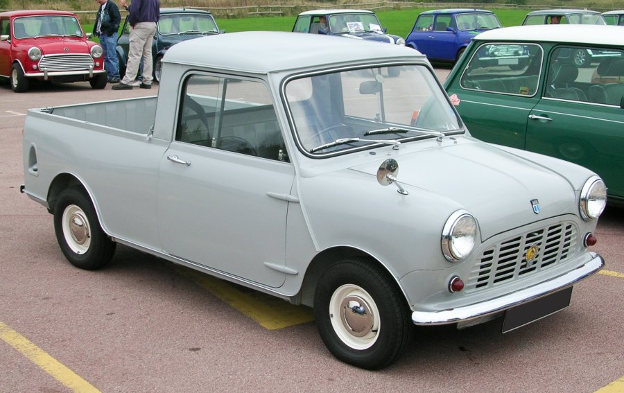 1965 ford cars » Morris Mini   Wikipedia  den frie encyklop    di Mini Pick up  1961   1982  redig    r   redig    r wikikode