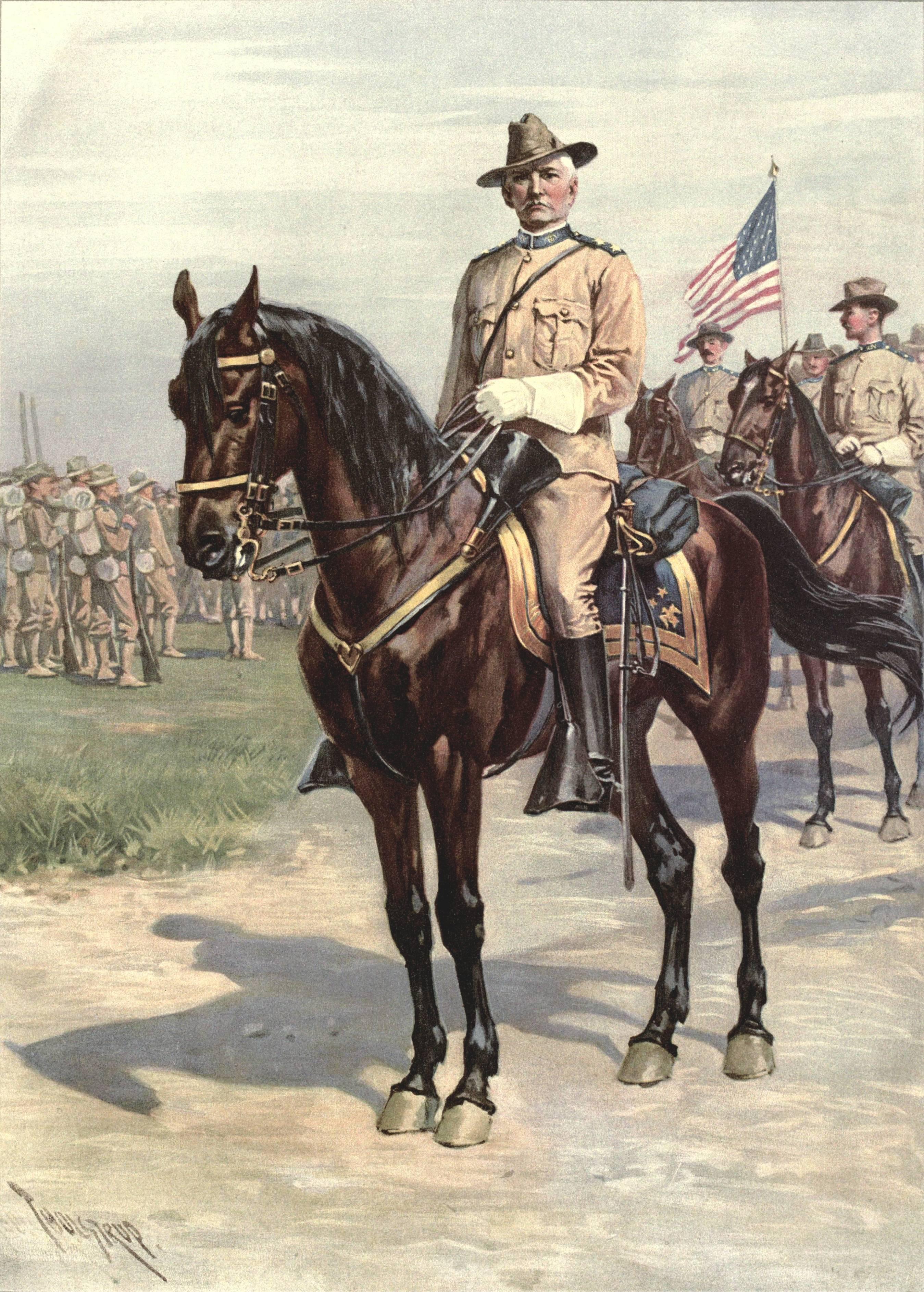 File Wesley Merritt During The Spanish American War