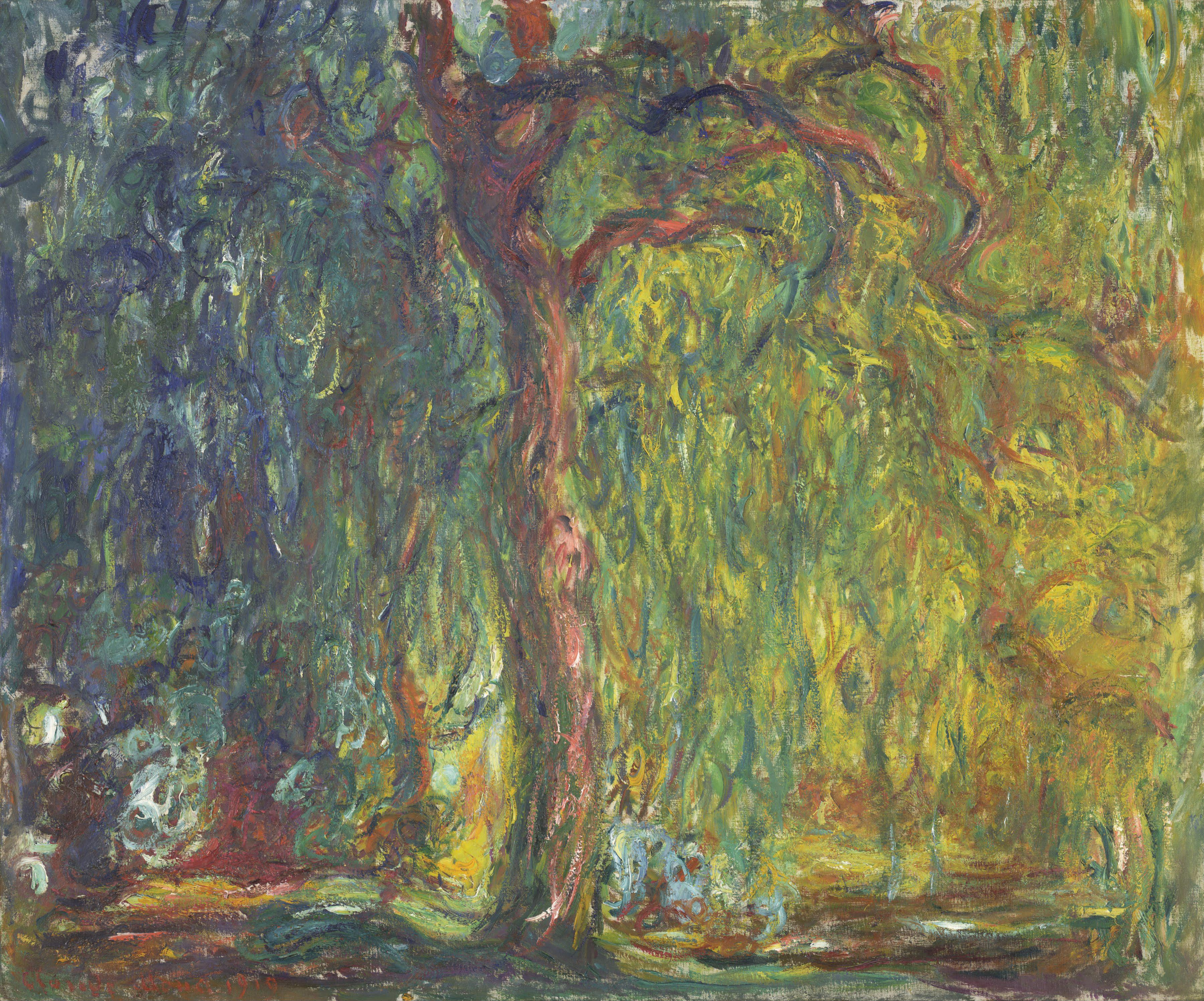 Claude Monet Weeping Willow